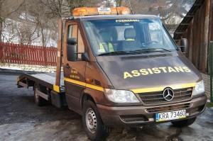 Laweta pomocy drogowej w Krakowie